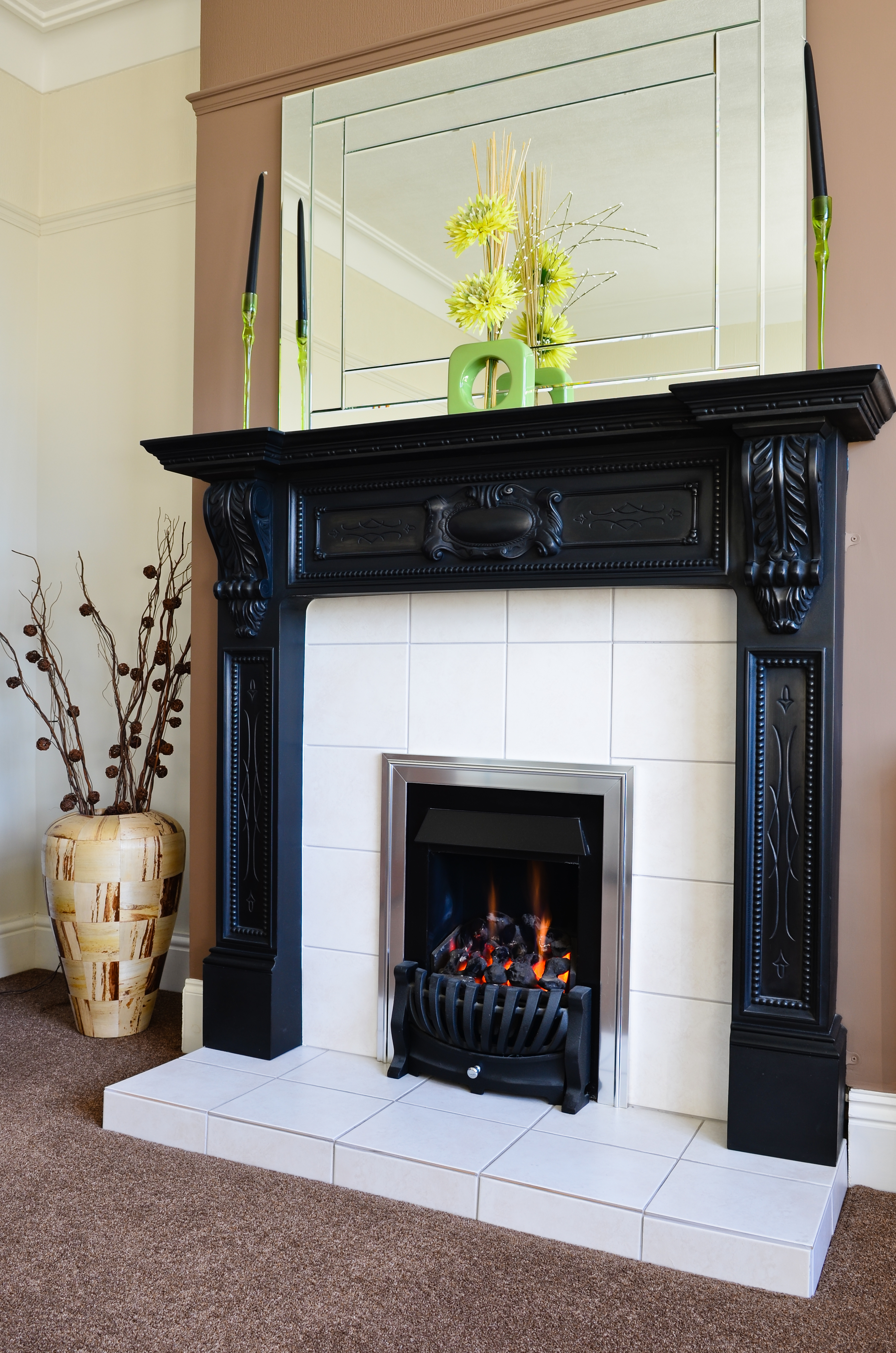 Pre Built Fireplace Surrounds Elegant Images Of Black Fireplace Mantel For Your Fireplace