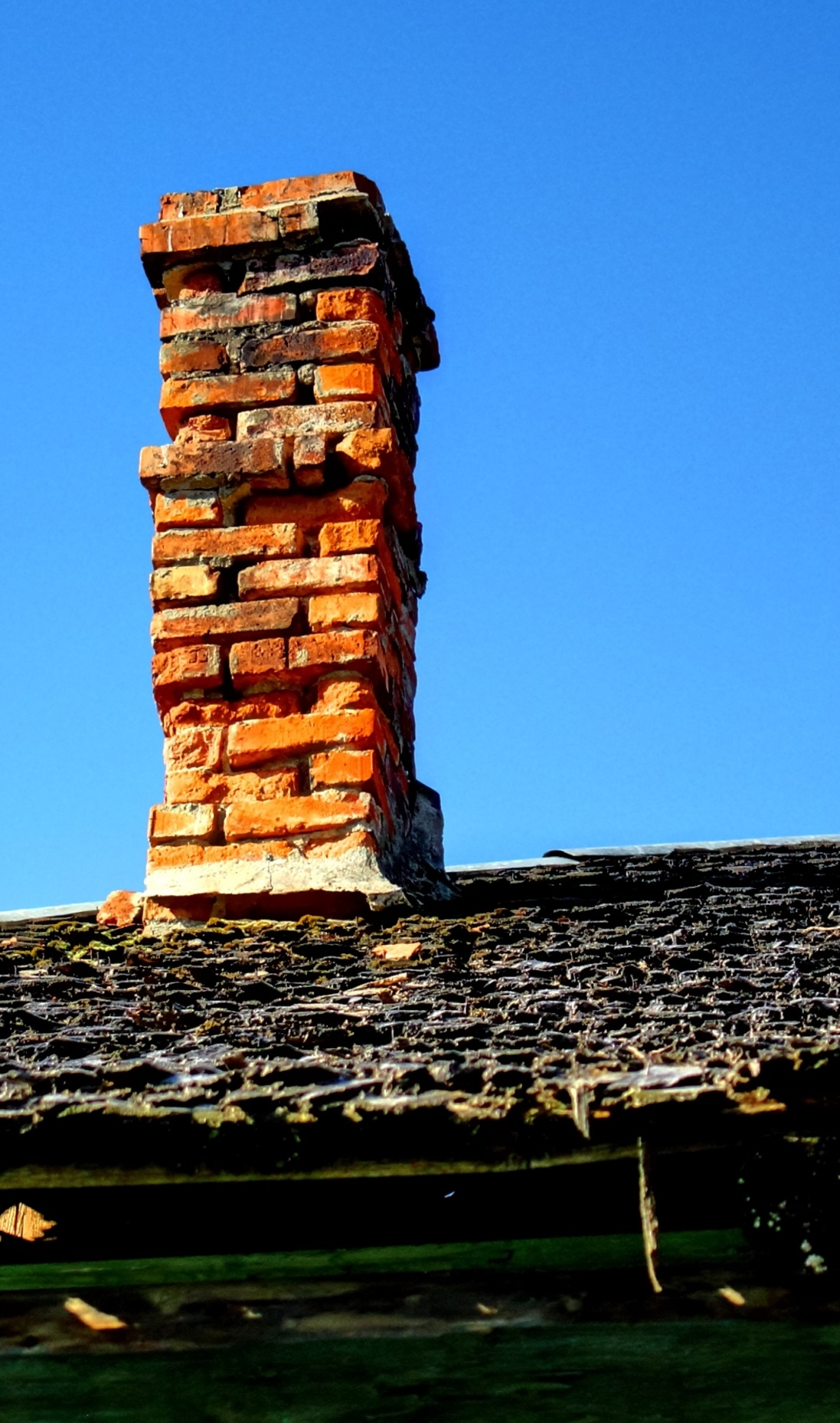 Chimney Brick Damage And Prevention Southern Md Magic