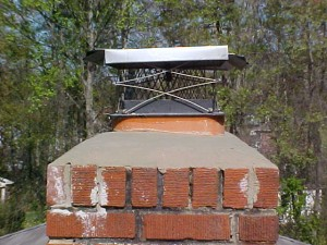 Chimney Crown Inspection and Repair - Southern MD - Magic Broom Chimney Sweeps