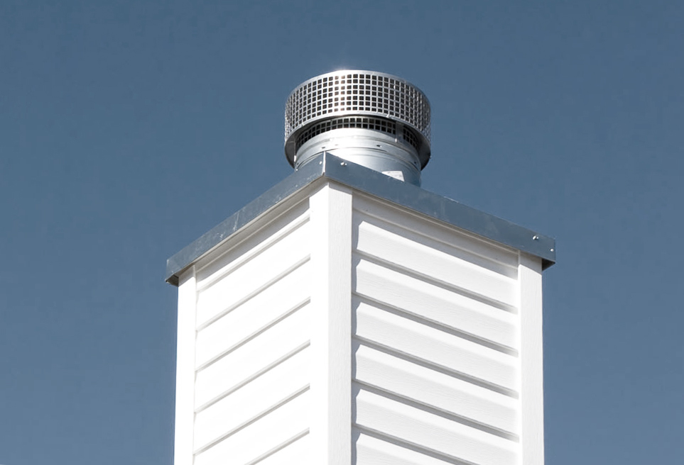 Gas Fireplace Chimney Caps : Chimney cap crown or chase cover southern maryland