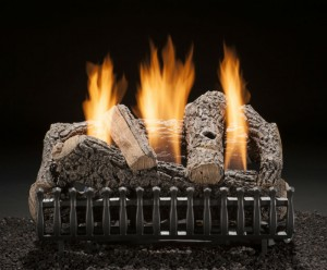 Direct Vent, Vent Free, or Natural Vent Gas Logs - Southern MD - Magic Broom Chimney Sweeps