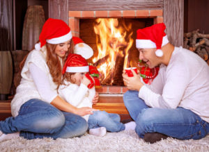 Enjoy Family Fun By The Fireplace Image - Waldorf MD - Magic Broom Chimney