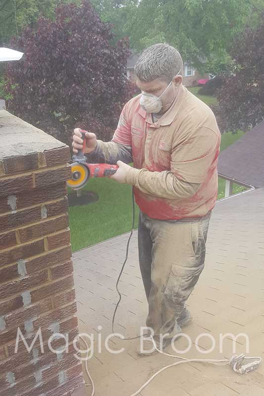 Grinding Mortar Joints