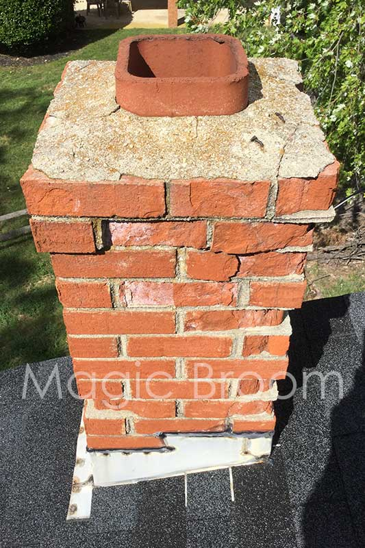 spalled brick4 - waldorf md