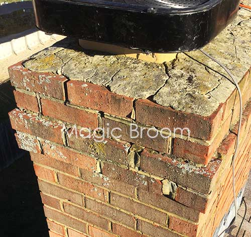 Chimney Leak Repair Southern Md Magic Broom Chimney Sweeps
